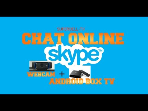 Video chat on any large screen using your Android Box TV