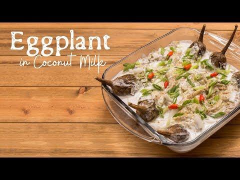 Chagi   Eggplant in Coconut Milk
