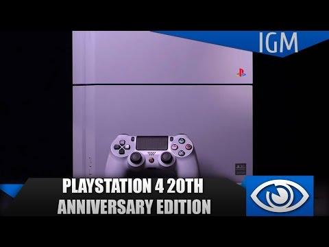Распаковка PlayStation 4 20th Anniversary Edition