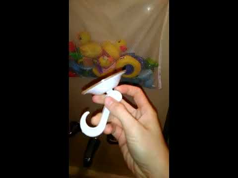 KESEF (TM) Bath Toy Organizer + 2 Bonus Suction Cups - Review