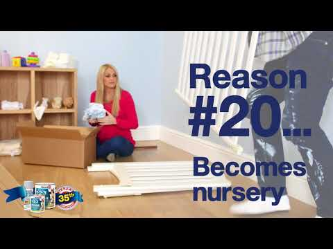 35 Reasons To Prime. Reason #20...Home office becomes nursery