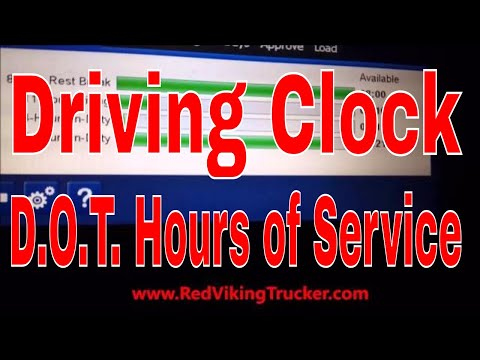 New CDL Truck Driver Tips Handling Your Driving Clock Hours