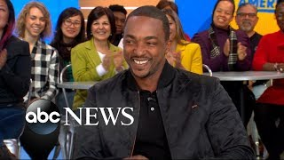 Anthony Mackie opens up about