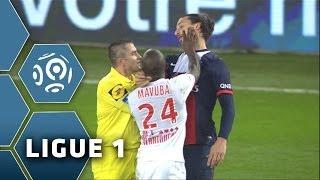 Zlatan Ibrahimovic receives a slap / PSG - Lille - 2013/2014