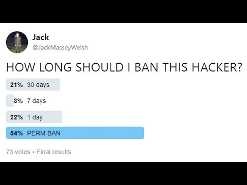 HOW LONG SHOULD I BAN THIS MINECRAFT HACKER?