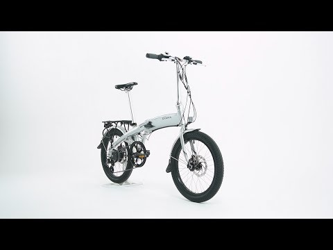 Oyama CX E8D Folding e-Bike Product Video by Performance Bicycle