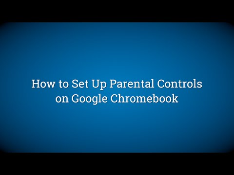 How to Set Up Parental Controls on Google Chromebook
