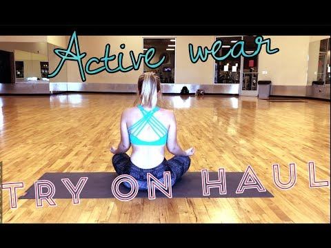 Fashion Lookbook. Active wear Try on haul FT. Onzie