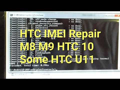 HTC One M8 IMEI repair how to EASY