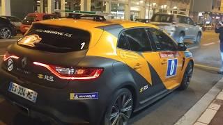 86 Rally di Montecarlo 2018 partenza ultimo giorno domenica 28 gennaio 1 parte