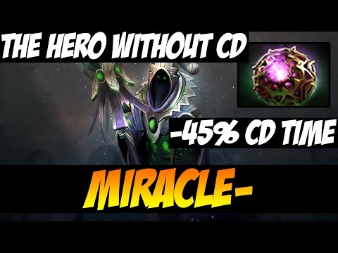 BEST HERO WITH BEST PLAYER -45% COOLDOWN TIME - Miracle Rubick - WTF GAMEPLAY - Vol 11 - Dota2
