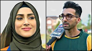WHEN A GIRL Plays CRICKET | Sham Idrees