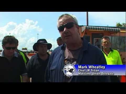 MV Triton Victory - Darwin