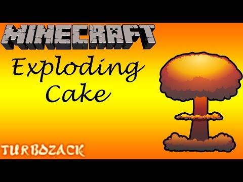 Minecraft: Exploding Cake