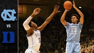 North Carolina vs. Duke Basketball Highlights (2018-19)