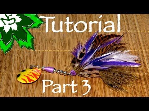 Bucktail Tying Tutorial - Part 3 the Collar - pike & muskie spinner bait lure