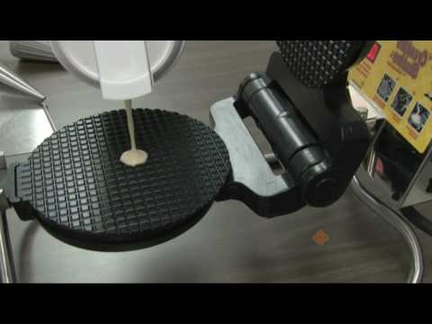 How to Make Waffle Cones and Bowls