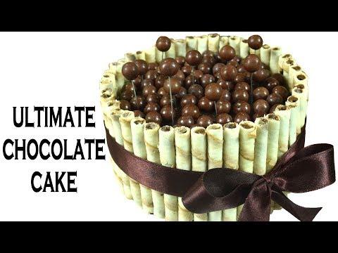 Ultimate Chocolate cake | Cadbury Shots/ Maltesers Chocolate Cake recipe |Super moist | Yummylicious