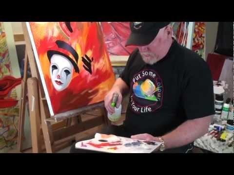 Graeme Stevenson Atelier Interactive Painting Demonstration