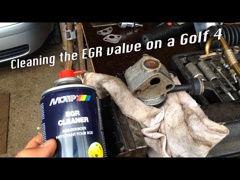 How to Golf 4 EGR Valve Replacement/Cleaning