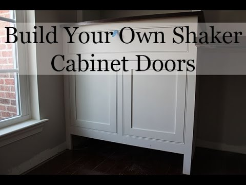 How To Build Shaker Kitchen Cabinet Doors / How To Repair