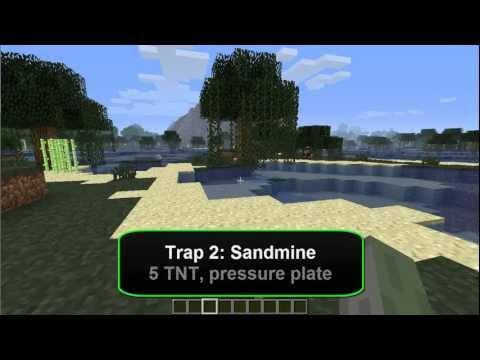 Minecraft Traps #2 - Sandmine