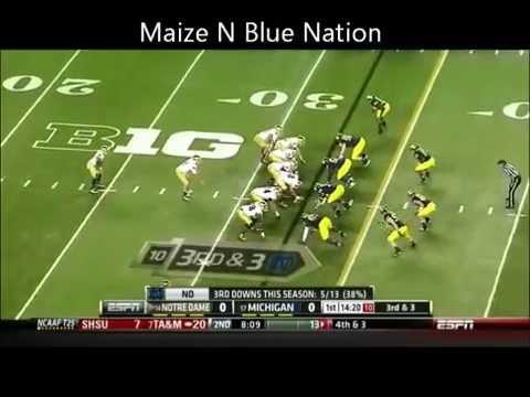 Notre Dame vs Michigan 2013 Highlights