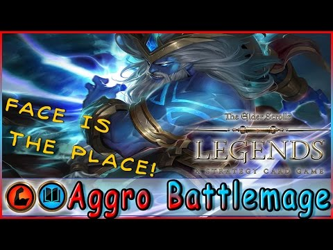 TES LEGENDS | Aggro Battlemage Strength Intelligence Deck | Constructed | The Elder Scrolls LEGEND