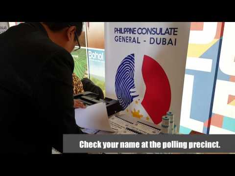 How to Vote in the Overseas Voting in the UAE