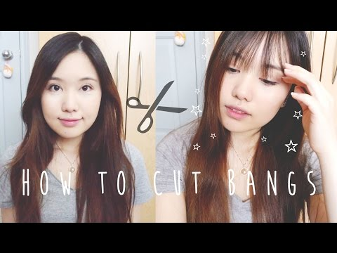 ✄ How to Cut Bangs ✄