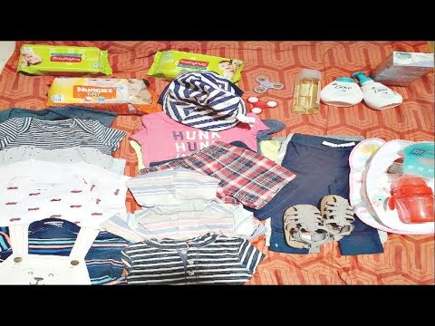 Baby shopping haul and Baby skin care products India