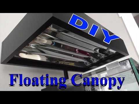 DIY Floating And Rotating Aquarium Canopy