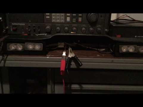 Custom rear deck flasher