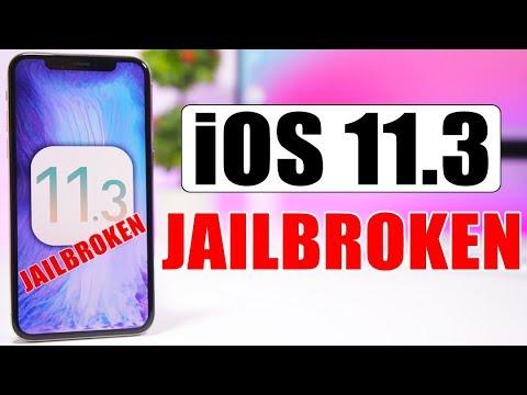 iOS 11.3 Jailbreak ACHIEVED !
