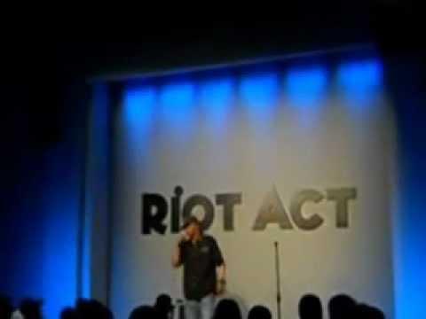 Eddie Griffin Opener @ Riot Act-Antwan Blackman.wmv