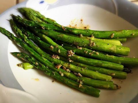 Garlic Butter Asparagus !