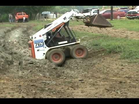How to Get a Bobcat Stuck and Unstuck