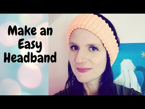 Easy Loom Knit Ear Warmer/ Headband (Beginner Friendly)