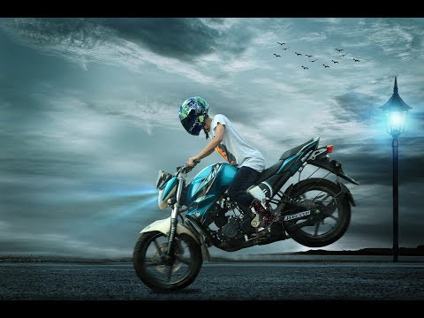 Bike Riding Photo Edit Bangla Tutorial