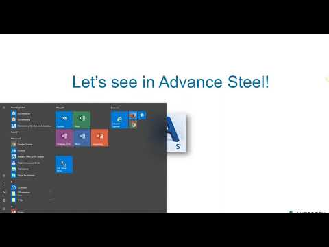 22. First Aid in Advance Steel - Investigate and Troubleshoot