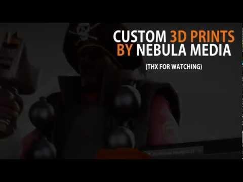 [3D Print] Team Fortress 2 Hat
