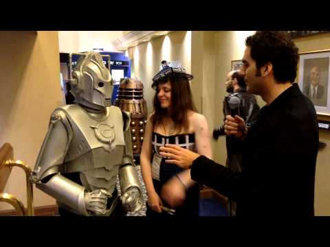 Hal-Con 2013 Interviews: Cyberman and the TARDIS (Doctor Who)