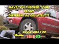 Trailblazer Front Differential Oil change. Do it before (Winter) its too late!