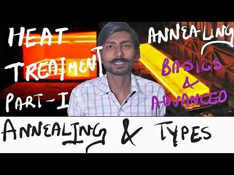 [HINDI] HEAT TREATMENT – 1 | ANNEALING & TYPES | ALL DETAILS