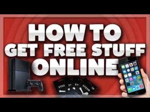 HOW TO GET FREE STUFF ONLINE NO SCAM!!!!!!!!!!!