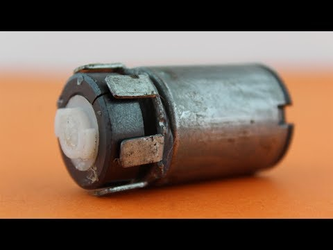 How to Make a Mini Generator at Home Using dc Motor