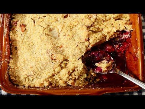 Berry Crisp Recipe Demonstration - Joyofbaking.com