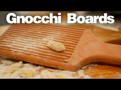 Making Gnocchi Boards - Woodworking Projects