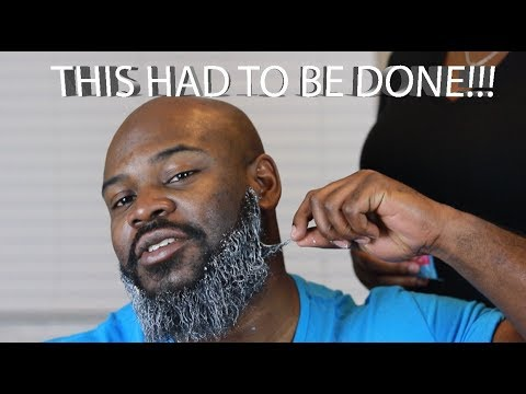 HOW TO PREVENT SHAVING BUMPS| RELAXING MY BEARD