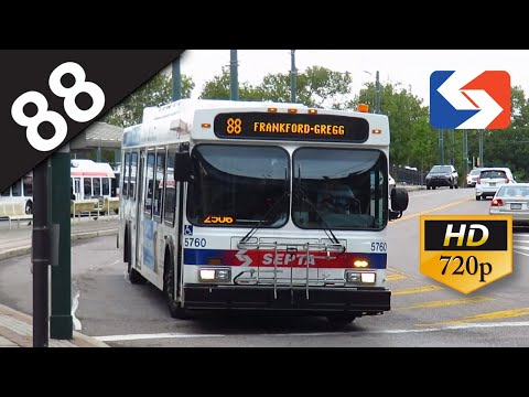 SEPTA Ride: 2004 New Flyer D40LF #5767 on route 88 to FTC